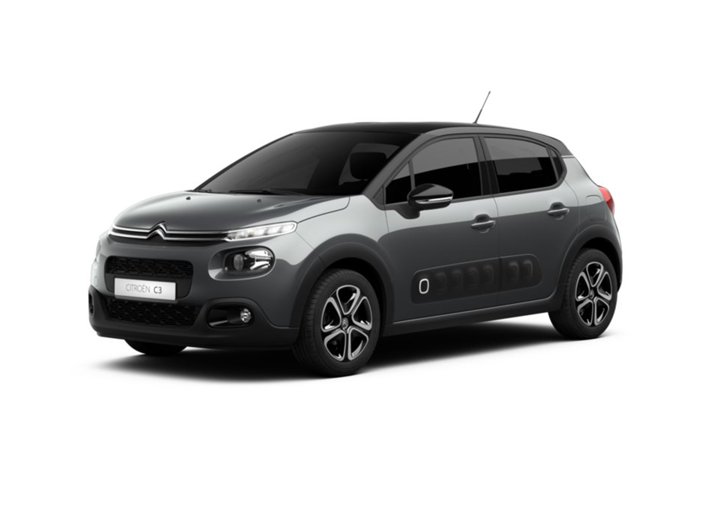 citroen c3 puretech 110 s s eat6 shine grigio platinum km0 a soli 16050 su miacar xs0t4. Black Bedroom Furniture Sets. Home Design Ideas