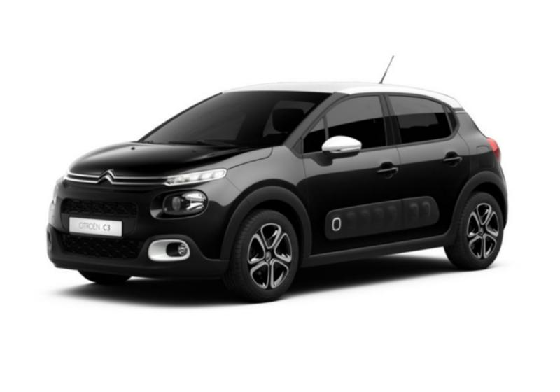citroen c3 puretech 82 shine night black km0 a soli 13800 su miacar q3wqt. Black Bedroom Furniture Sets. Home Design Ideas