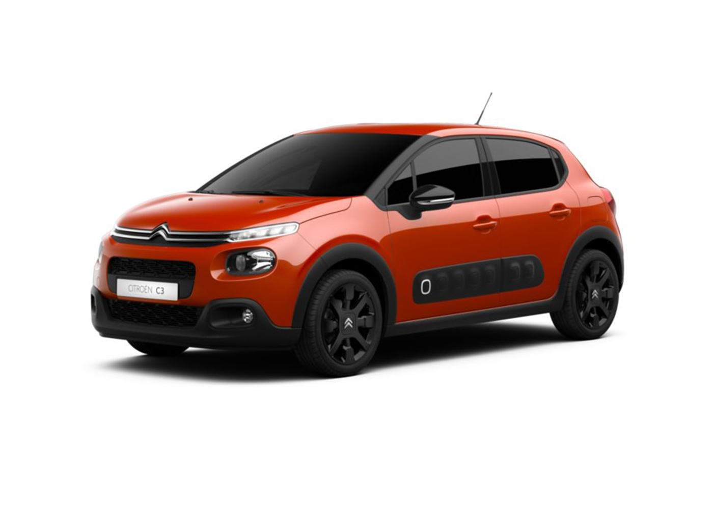 citroen c3 puretech 82 shine orange power km0 a soli 14300 su miacar wnh2f. Black Bedroom Furniture Sets. Home Design Ideas