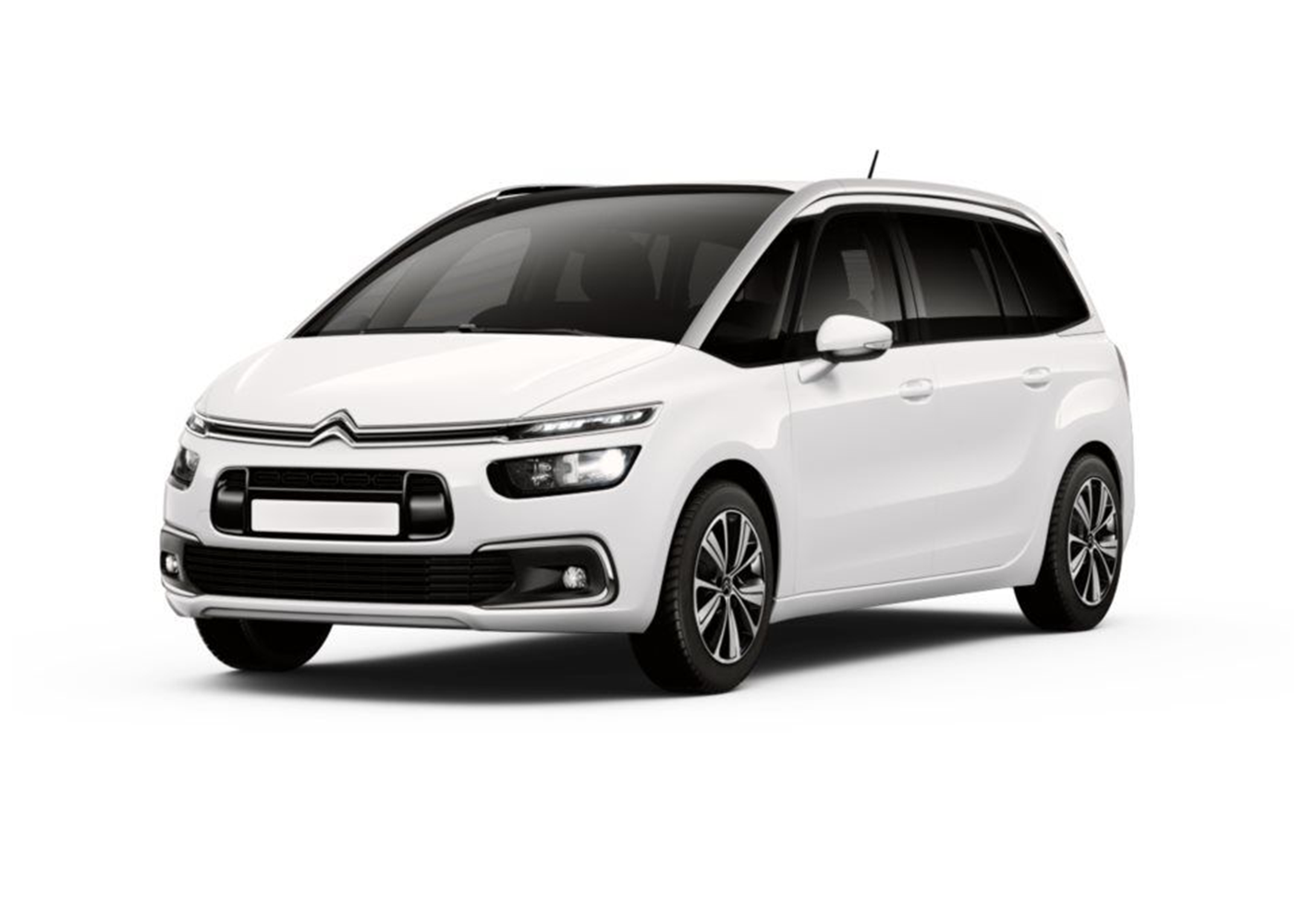 citroen grand c4 picasso bluehdi 120 s s eat6 feel bianco banquis km0 a soli 22400 su miacar. Black Bedroom Furniture Sets. Home Design Ideas