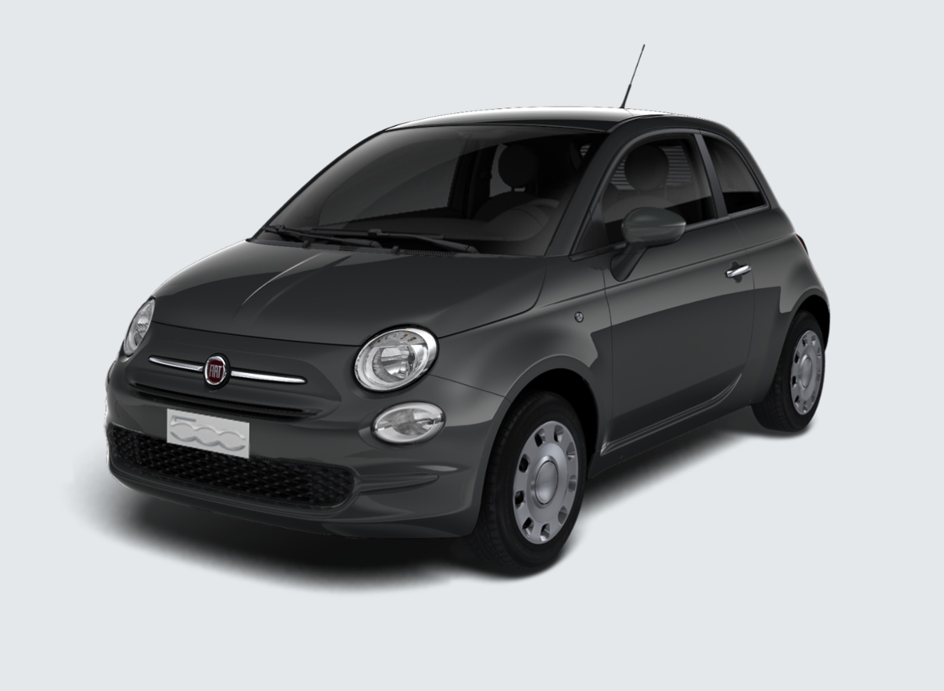 fiat 500 1 2 69cv pop grigio carrara km0 a soli 10390 su miacar dgl0f. Black Bedroom Furniture Sets. Home Design Ideas