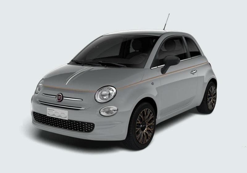 Fiat 500 1.2 Collezione Grigio Cortina Km0 a soli 12990 ...