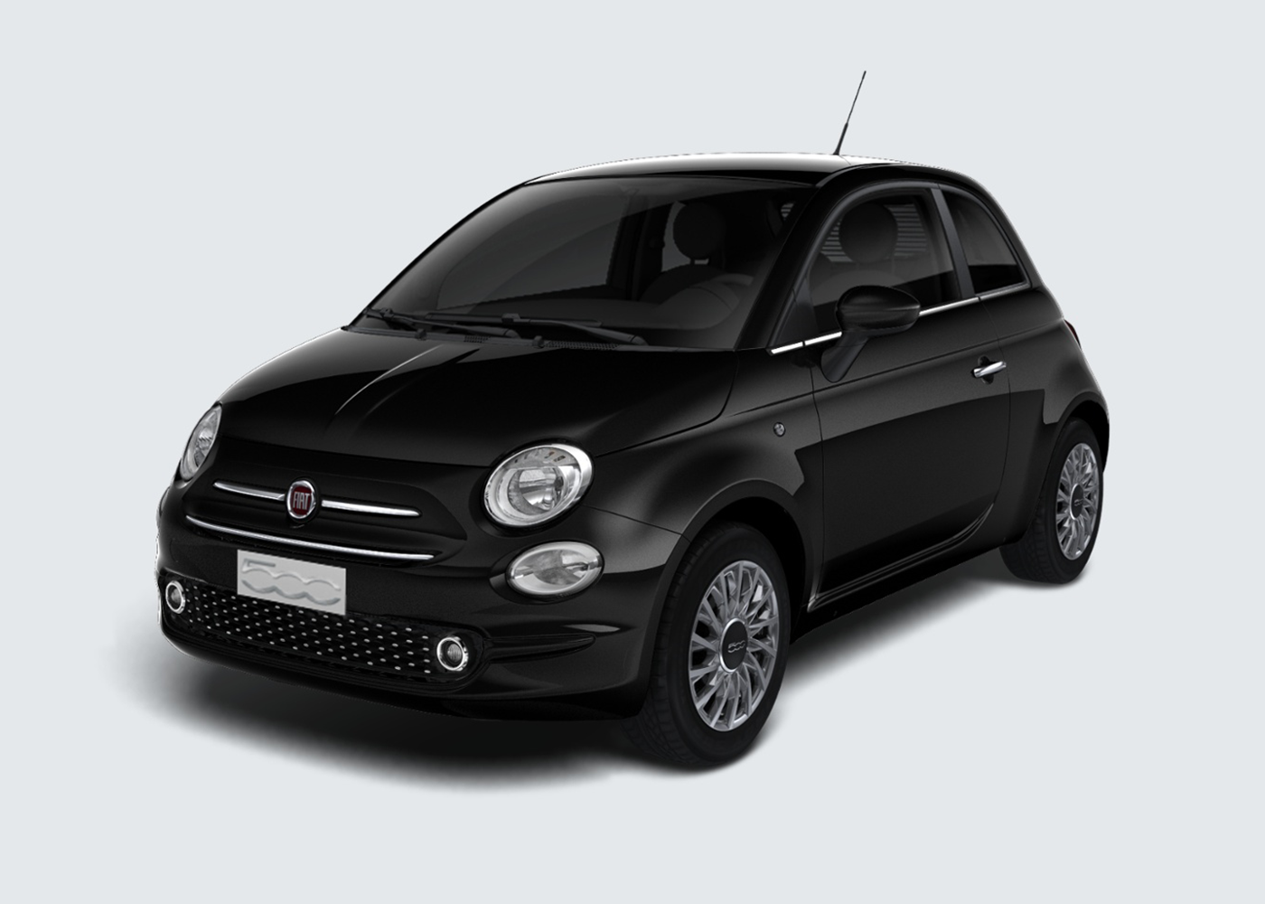 fiat 500 1 2 lounge nero vesuvio km0 a soli 12687 su miacar ow6xe. Black Bedroom Furniture Sets. Home Design Ideas