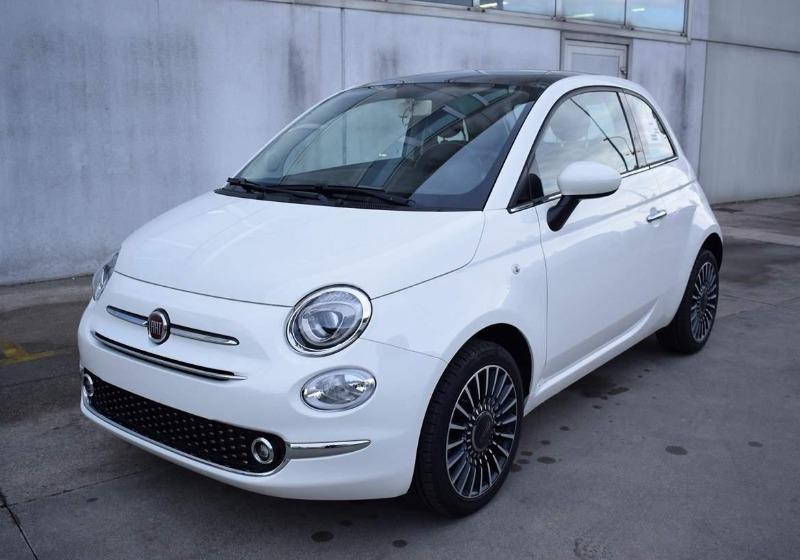 Fiat 500 1.2 Lounge MY 19 Bianco Gelato Km0 A Soli 12200