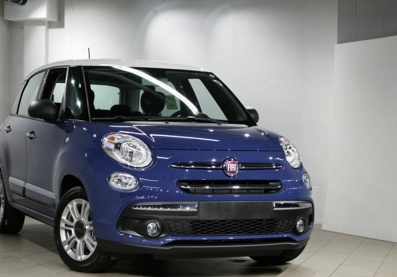 Fiat 500l Blu Bellagio Interni The Fiat Car