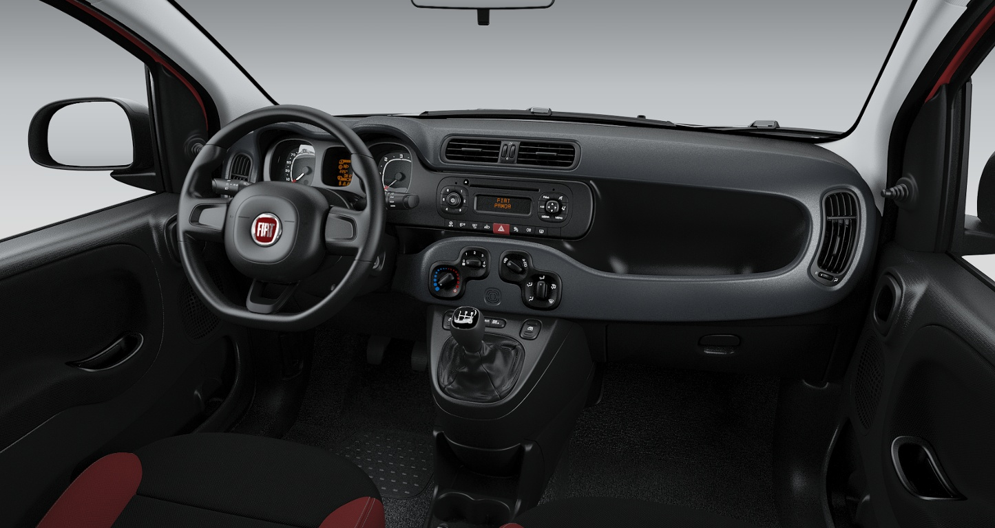 fiat panda rosso amore nuova a soli 12990 su miacar gc8h4. Black Bedroom Furniture Sets. Home Design Ideas