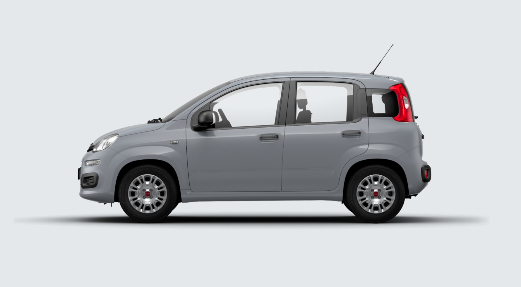 Fiat panda grigio moda km0 a soli 8990 su miacar 1i2si for Fiat panda pop accessori di serie