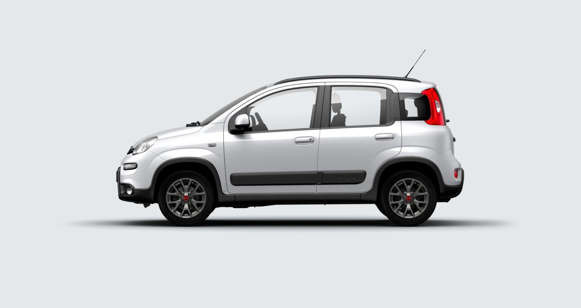 Fiat panda 4x4 grigio argento km0 a soli 16100 su miacar for Immagini panda 4x4