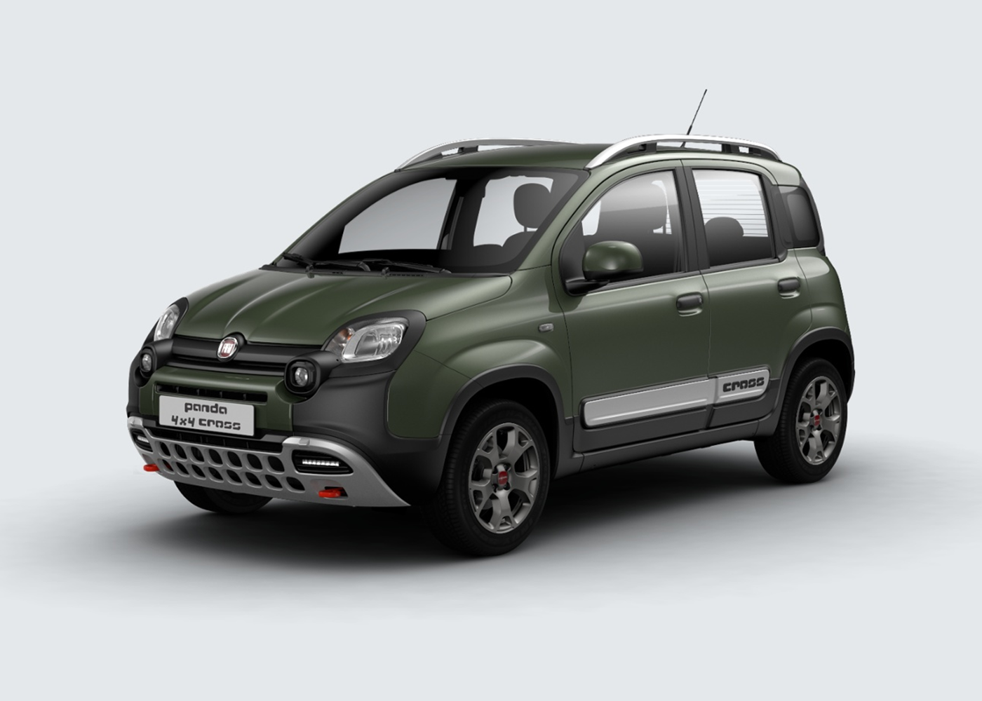 fiat panda cross verde toscana km0 a soli 16942 su miacar 7et4y. Black Bedroom Furniture Sets. Home Design Ideas