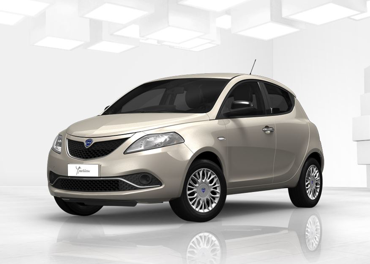 lancia ypsilon 1 3 mjt 16v 95 cv 5 porte s s silver avorio chic nuova a soli 13775 su miacar. Black Bedroom Furniture Sets. Home Design Ideas