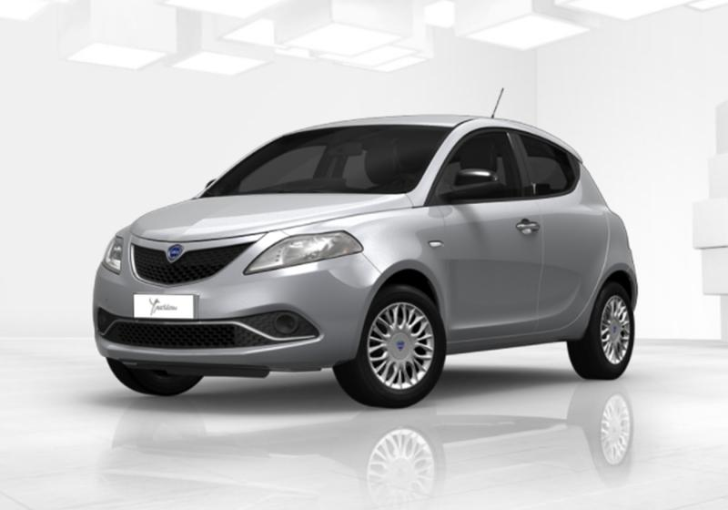 lancia ypsilon 1 3 mjt 16v 95 cv 5 porte s s silver grigio argento km0 a soli 12251 su miacar. Black Bedroom Furniture Sets. Home Design Ideas