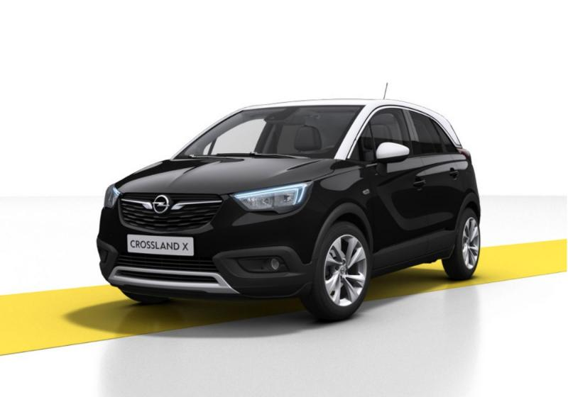 opel crossland x 1 2 turbo 12v 110 cv start stop. Black Bedroom Furniture Sets. Home Design Ideas
