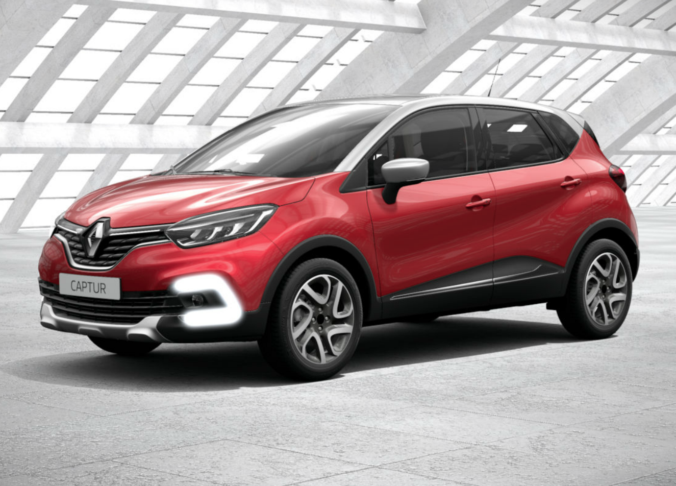 renault captur tce 120 cv start stop energy intens rosso. Black Bedroom Furniture Sets. Home Design Ideas