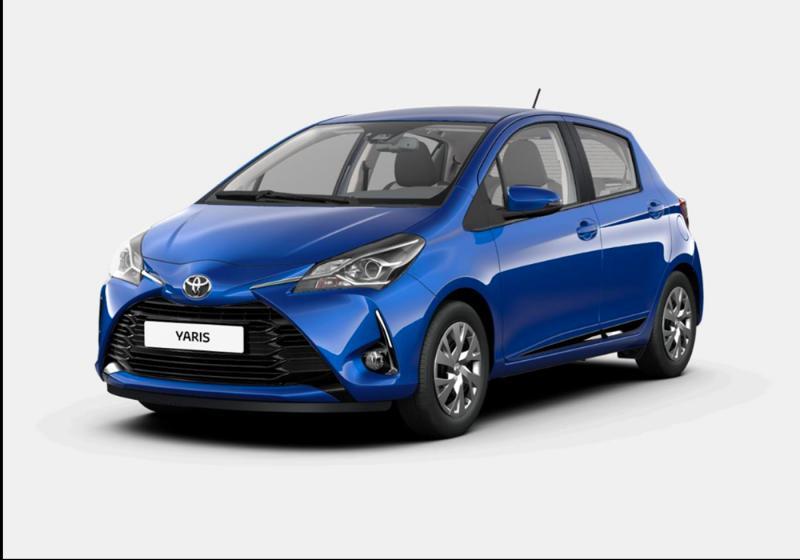 ed24c7dab7 Toyota Yaris 1.0 5 Porte Active Nebula Blue Km0 a soli 12700€ su ...