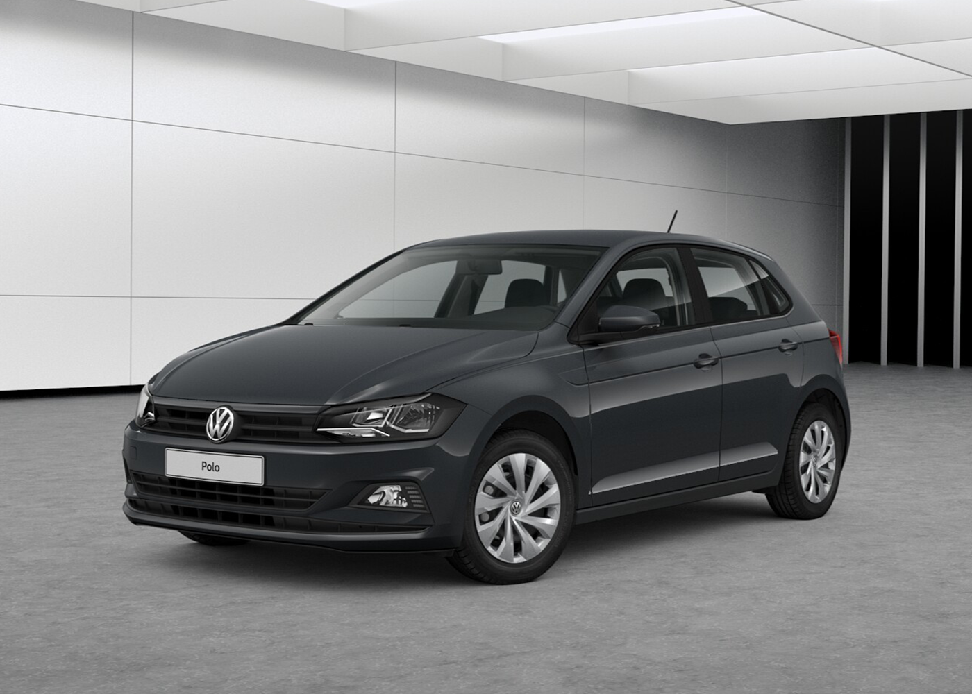 volkswagen polo 1 0 mpi 5p trendline bluemotion technology grigio urano km0 a soli 13406 su. Black Bedroom Furniture Sets. Home Design Ideas